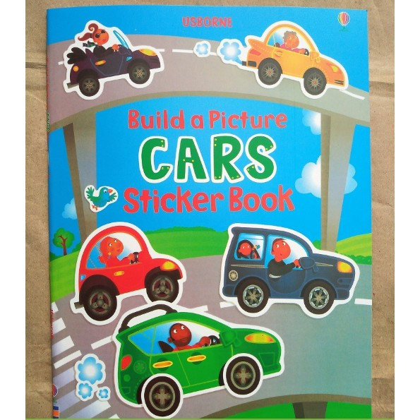 USBORNE STICKER BOOKS - CARS