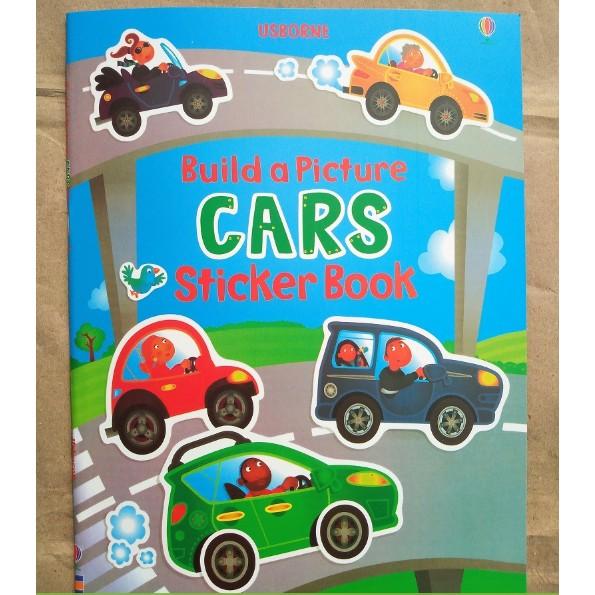 USBORNE STICKER BOOKS - CARS