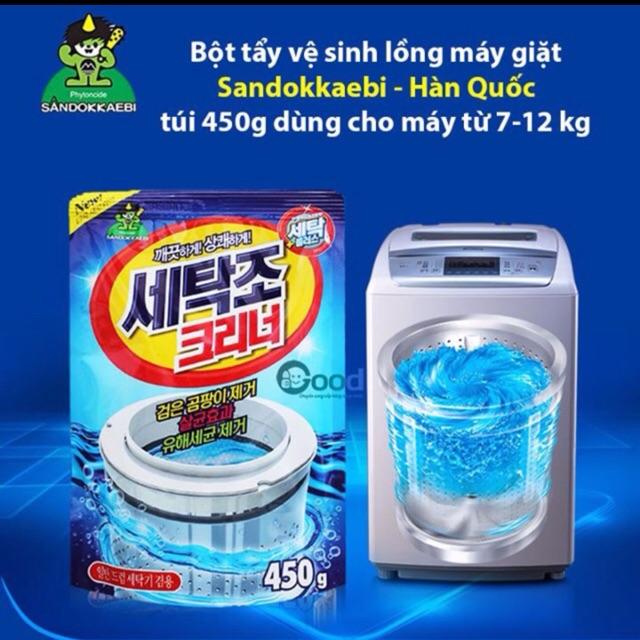 Combo 5 túi tẩy lồng máy giặt(thả bồn cầu)