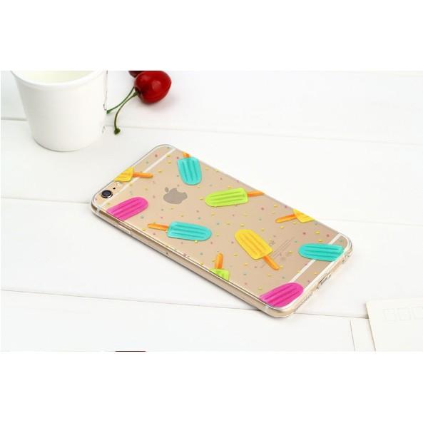 Ốp Lưng iPhone 5/6/6plus Nhựa Dẻo Trong In Hình Cực Đẹp