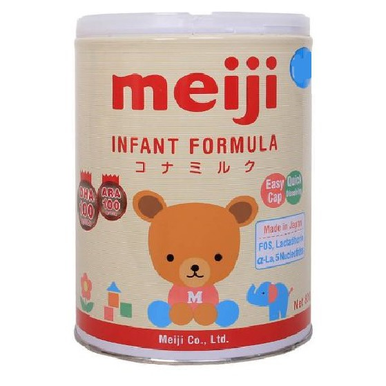 Sữa bột Meiji số 0 800G (hàng chính hãng date