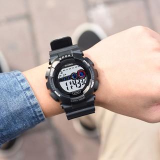 Đồng hồ nam Synoke 9609 thể thao điện tử dây cao su