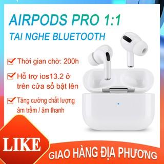 Airpods Pro bluetooth nhận Tai nghe không dây có mic chống ồn xuyên âm-Tai nghe cho tất cả điện thoại thông minh-[AL-D8]