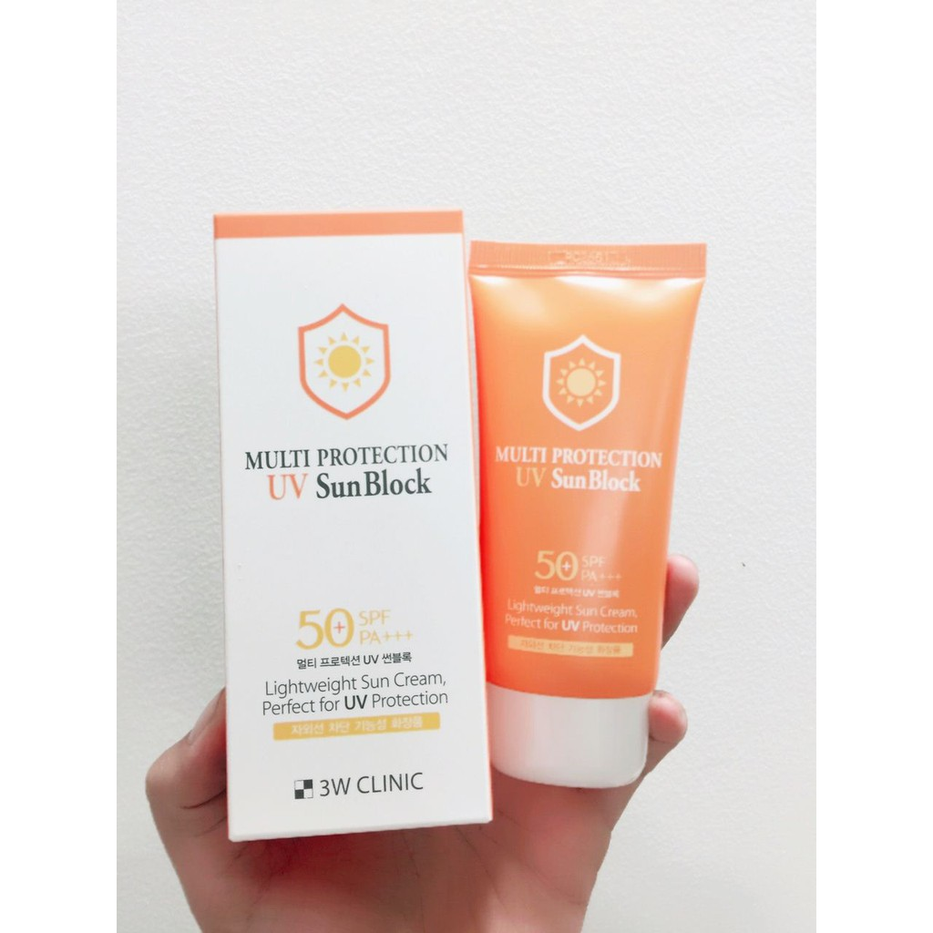 Kem Chống Nắng 3W Multi Protection UV SunBlock