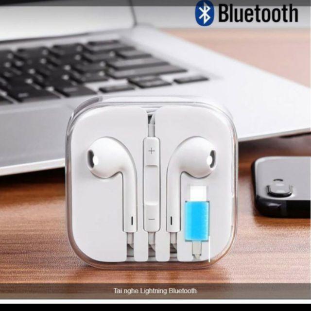 Tai Nghe Iphone 7 Bluetooth Bảo Hành 6 Tháng Tương Thích Với Dòng Iphone 7/8/7 Plus/8 Plu