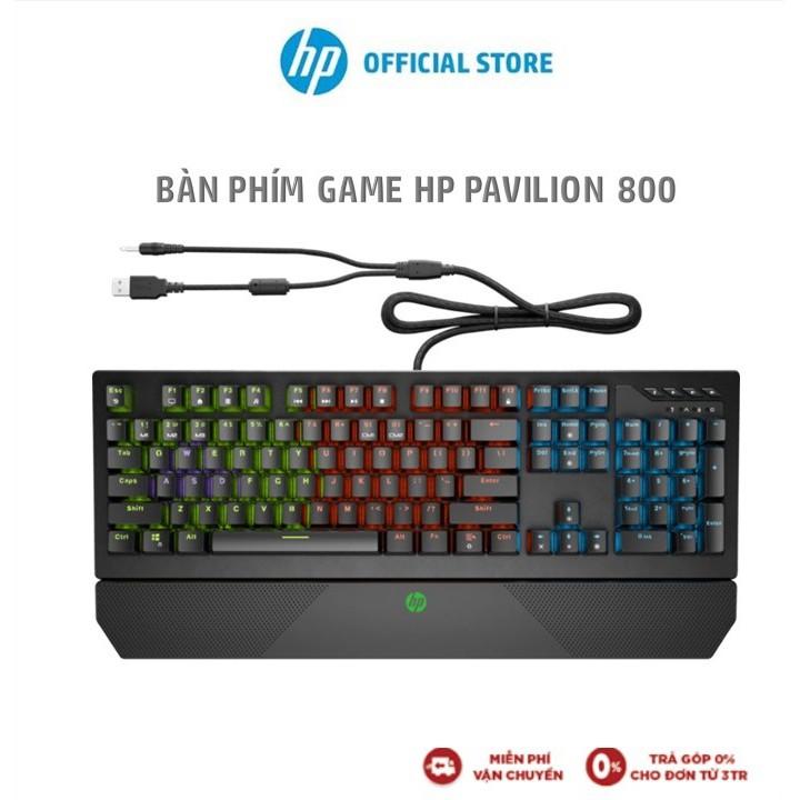 Bàn phím vi tính HP Pav Gaming Keyboard 800 A/P_5JS06AA - Hàng Chính