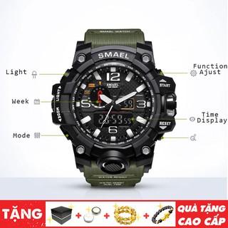 Đồng hồ nam thể thao SMAEL kháng nước, chống sốc, bụi bẩn, phong cách thủy quân lục chiến SIÊU ĐẸP
