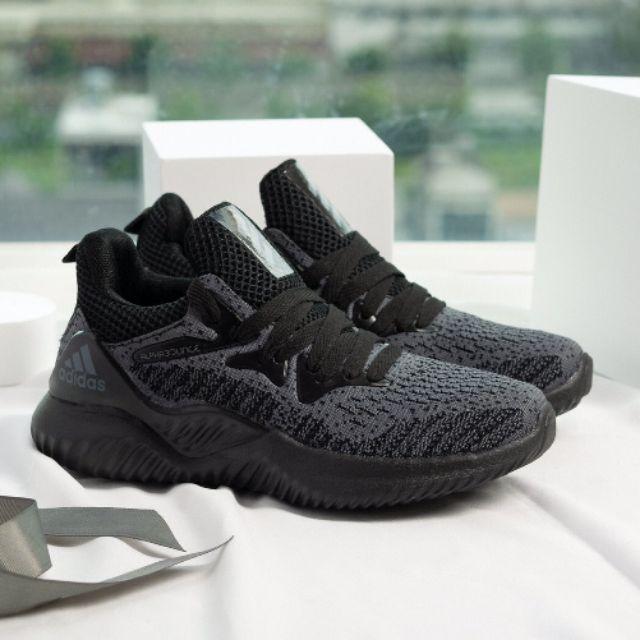 [Box das] Giầy Adidas Alphabounce full đen nam nữ