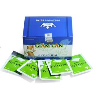 Trà giảm cân Kingphar slim ( hộp 30 gói) giảm cân an toàn, hiệu quả, giảm hấp thu, tăng cường chuyển hoá mỡ thumbnail