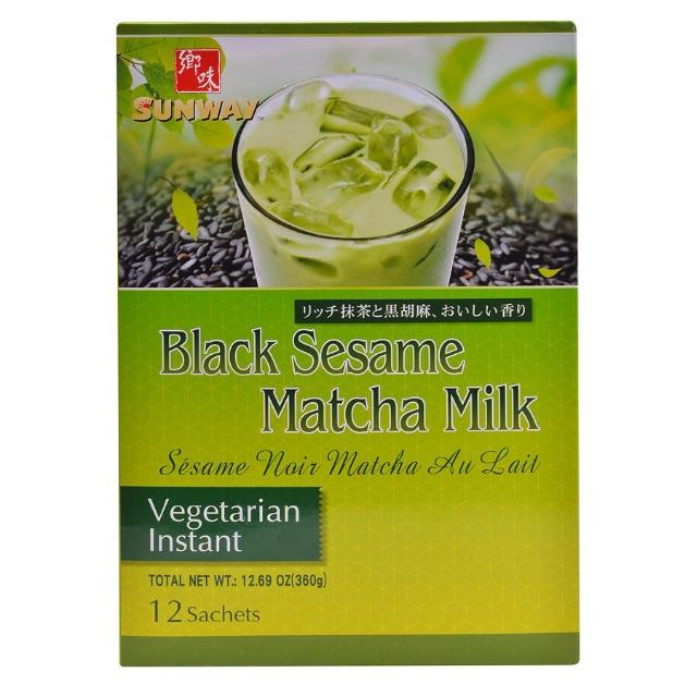 Bột Trà Sữa Matcha Mè Đen Sunway Black Sesame Matcha Milk (12 Gói x 30g) - 2498817 , 1259179261 , 322_1259179261 , 265000 , Bot-Tra-Sua-Matcha-Me-Den-Sunway-Black-Sesame-Matcha-Milk-12-Goi-x-30g-322_1259179261 , shopee.vn , Bột Trà Sữa Matcha Mè Đen Sunway Black Sesame Matcha Milk (12 Gói x 30g)