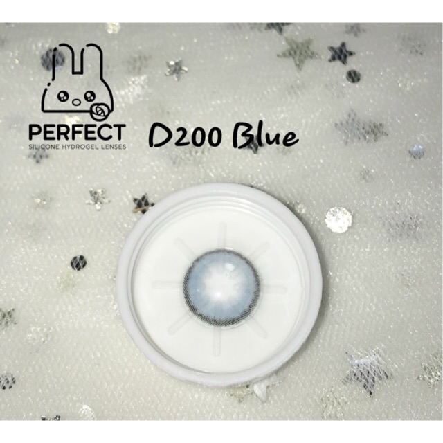 14.0 – 0.00 – D200 Blue Kính Áp Tròng – Giá 1 Chiếc