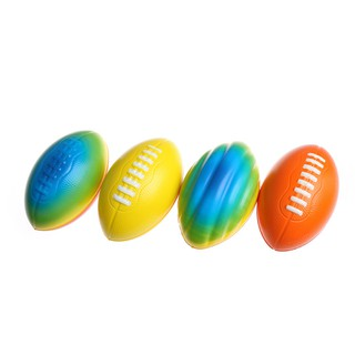 ❀❀Stress Relief Vent Ball American Football Squeeze Foam Rugby Ball Outdoor To