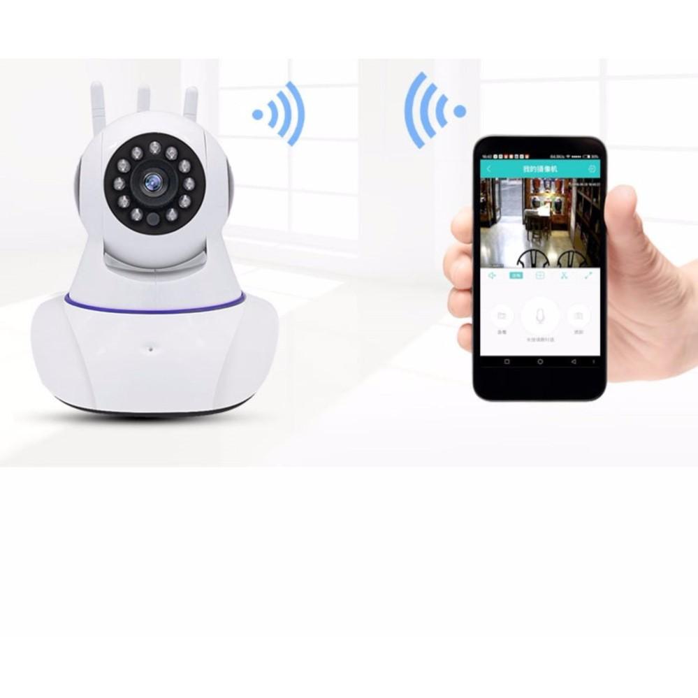 Camera IP Yoosee Wifi X8100 3 Ăngten - dùng phần mềm live yes