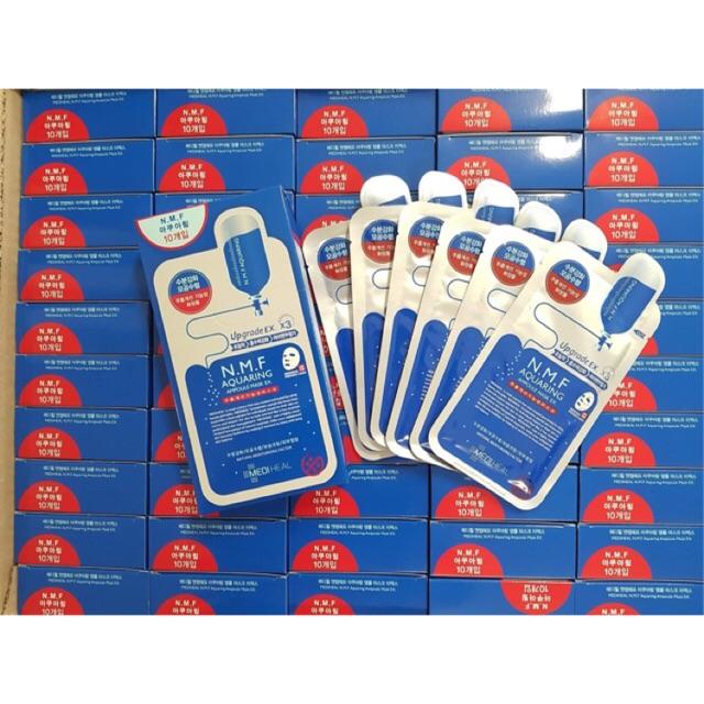 Mặt nạ dưỡng ẩm, kiềm dầu Mediheal N.M.F Aquaring Ampoule Mask 25ml - 21576632 , 1067089773 , 322_1067089773 , 6000 , Mat-na-duong-am-kiem-dau-Mediheal-N.M.F-Aquaring-Ampoule-Mask-25ml-322_1067089773 , shopee.vn , Mặt nạ dưỡng ẩm, kiềm dầu Mediheal N.M.F Aquaring Ampoule Mask 25ml