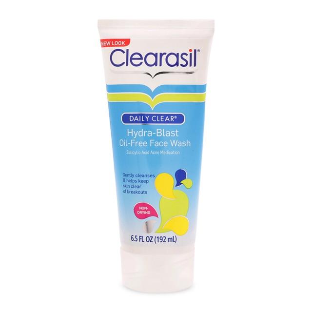 Sữa rửa mặt trị mụn clearasil
