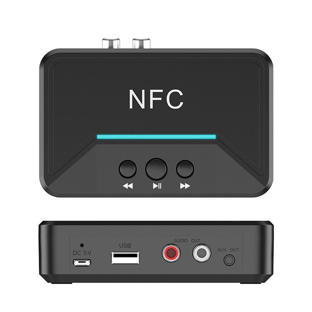 Thiết Bị Nhận Tín Hiệu Âm Thanh Bluetooth 5.0 Nfc Cổng Cắm 3.5mm