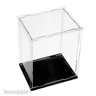 Medium Clear Acrylic Display Box Case Dustproof Protection Toy Decor