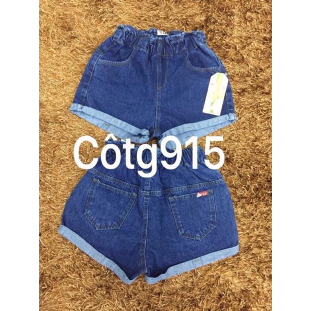 (SALE LỖ) Quần short jean lưng thun