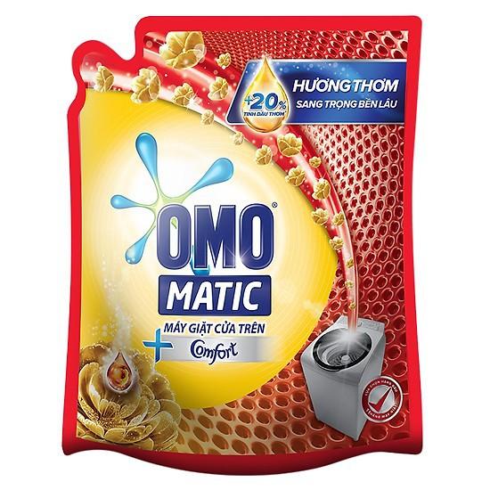 Nước giặt Omo matic Comfor tinh dầu thơm 2.3kg