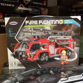Lego Xingbao -XB03028 Lắp Ráp Xe Cứu Hỏa ( 767 Mảnh )
