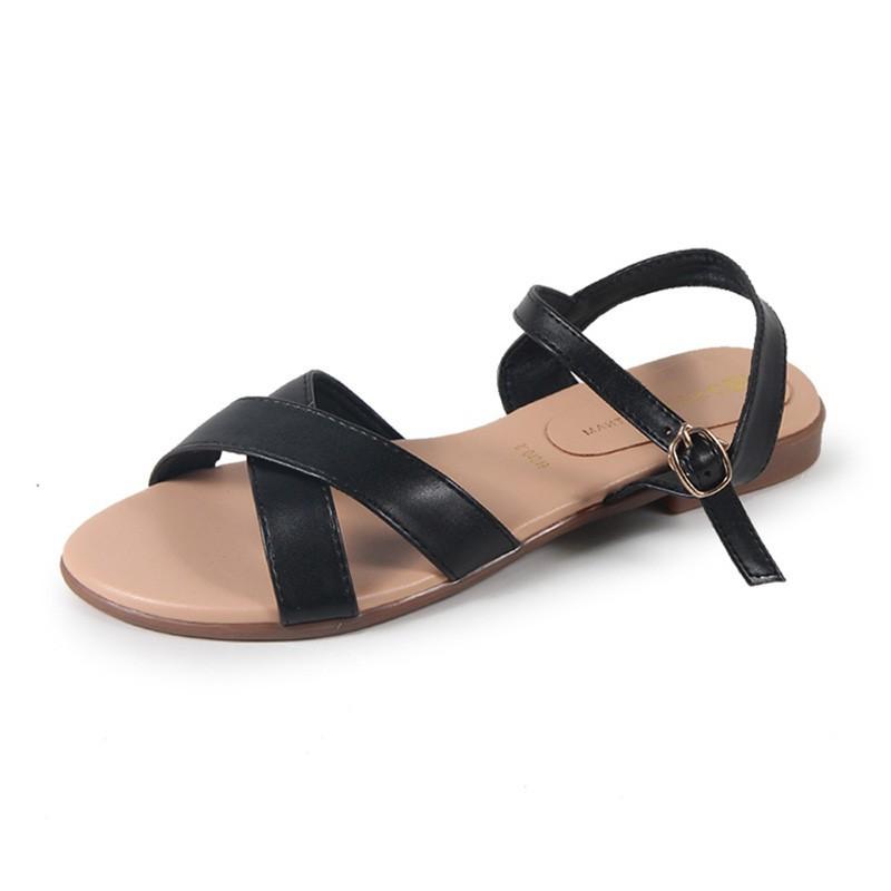 Model fashion Giày Sandal quai chéo S01018 -