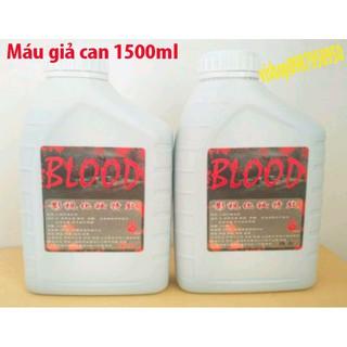 chai máu giả can 1000ml dùng để selfie chụp ảnh mã sphẩm LN101 Amua là có quà
