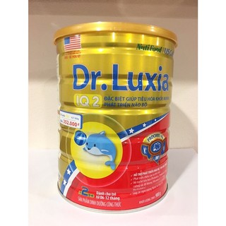 Sữa Dr.luxia IQ2 6-12 Hộp 900g