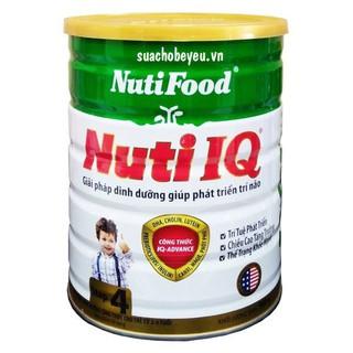 Sữa Nuti IQ Step 4, Nuti Food, 900g, Trẻ 2-6Tuổi Mẫu mới thumbnail