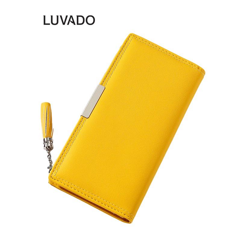 Ví nữ dài đẹp cầm tay thời trang TAOMICMIC nhiều ngăn cao cấp đựng tiền LUVADO VD378