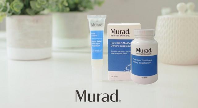 (chính hãng) Viên uống Murad hỗ trợ làm giảm mụn 120 viên