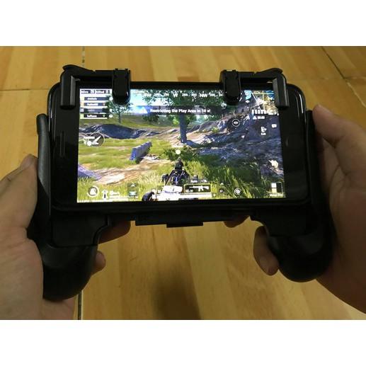 Combo tay cầm Gamepad và Bộ nút cơ chơi Pubg , Ros - 2729959 , 1302238185 , 322_1302238185 , 85000 , Combo-tay-cam-Gamepad-va-Bo-nut-co-choi-Pubg-Ros-322_1302238185 , shopee.vn , Combo tay cầm Gamepad và Bộ nút cơ chơi Pubg , Ros