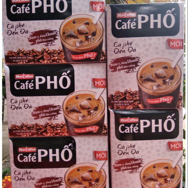 CÀ PHÊ ĐEN ĐÁ CAFE PHỐ 10 GÓI X16G - 14152718 , 1830800749 , 322_1830800749 , 28000 , CA-PHE-DEN-DA-CAFE-PHO-10-GOI-X16G-322_1830800749 , shopee.vn , CÀ PHÊ ĐEN ĐÁ CAFE PHỐ 10 GÓI X16G