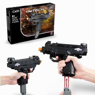 [Hàng Chính Hãng] Bộ Đồ Chơi Xếp Hình CaDA Lắp Ráp LEGO Mô Hình PUBG Súng Mini Gun Uzi 359 Mảnh Ghép
