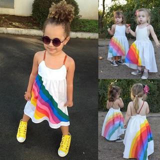 Váy xòe đi biển cho bé gái