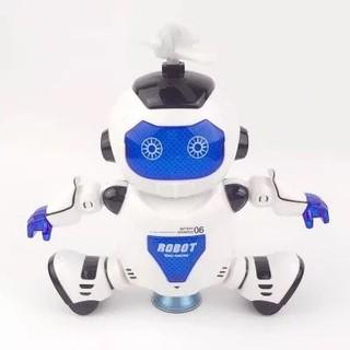 Đồ chơi Robot nhảy theo nhạc có đèn xoay 360o Yearoo No 11006