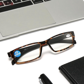PATH Vision Care Reading Glasses High-definition Eyeglasses Presbyopic Glasses Portable Anti Blue Light Ultralight Unisex PC Frames
