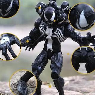 For Venom Slaughter Spider-Man Movable Garage Kits Dolls Toy Model