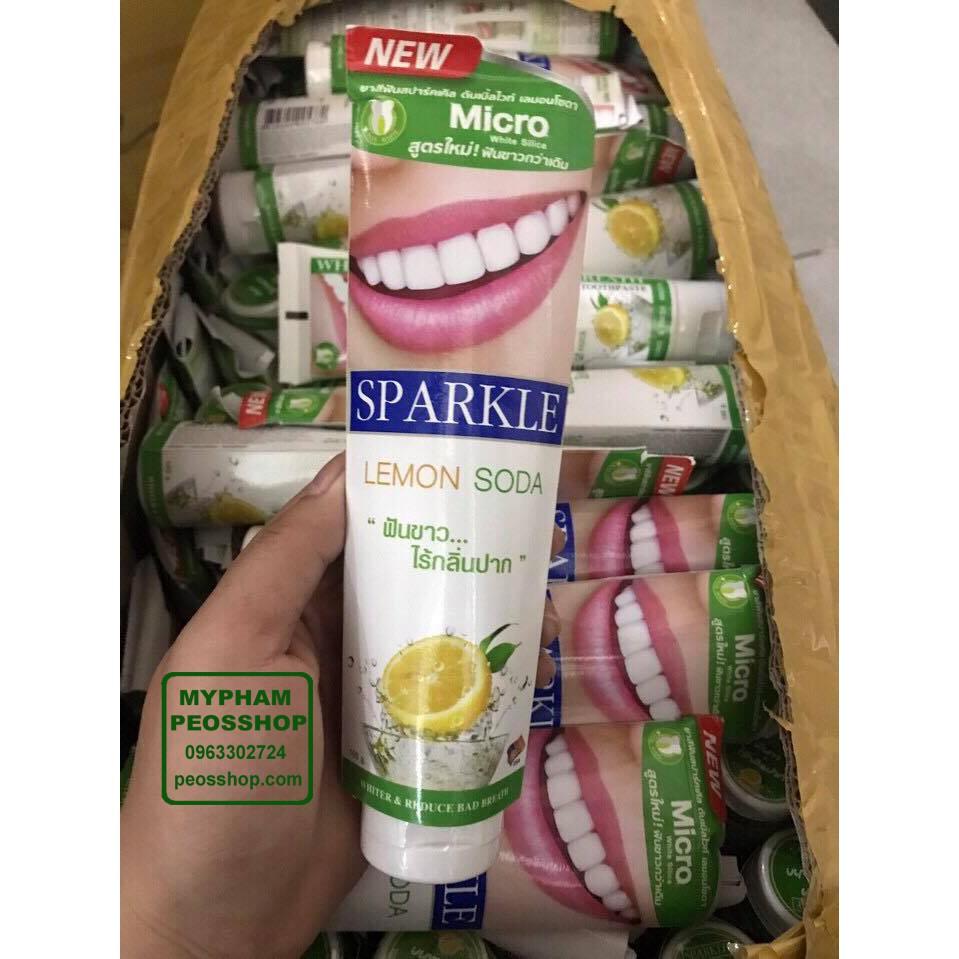 Kem đánh răng siêu siêu trắng SPARKLE