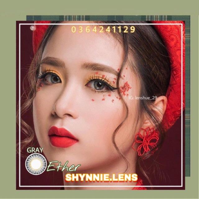💥 Lens xám vân đá July Gray giãn vừa - Made In Korea