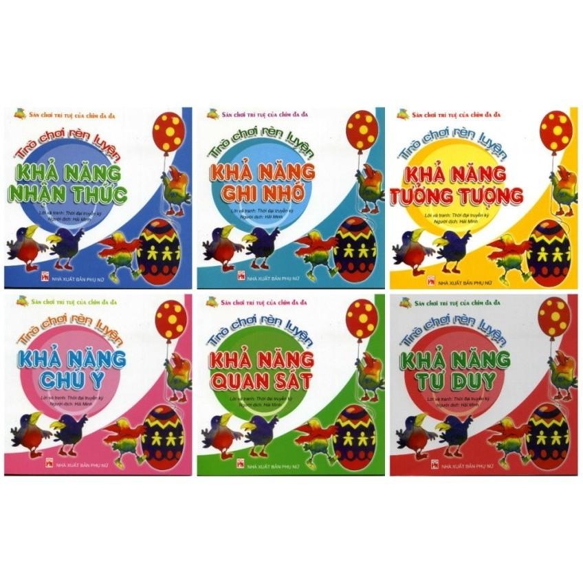 Sách Sân chơi trí tuệ Chim đa đa (Túi 6 cuốn)