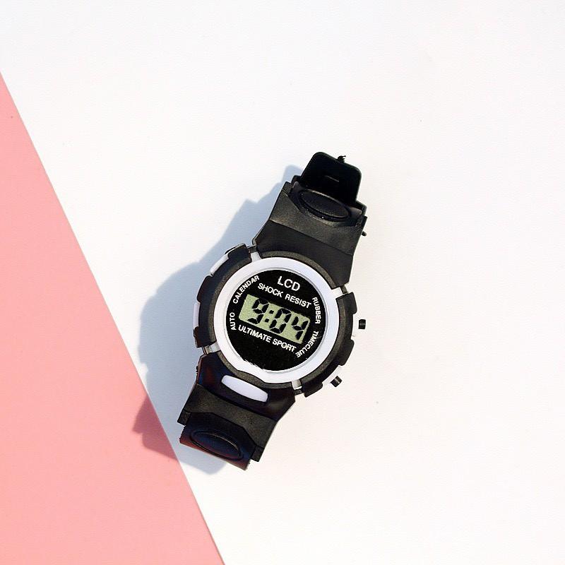 Đồng hồ Pohanu nam thời trang điện tử LCD Shock Resist cực xinh DH74