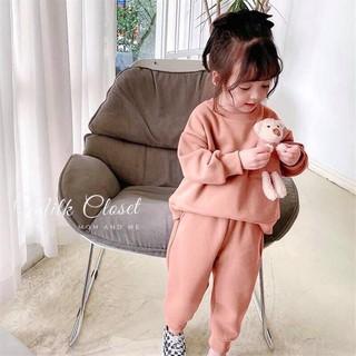SET BỘ GẤU bé gái,set bộ bé gái,Set bộ thu đông, đồ bộ cho bé