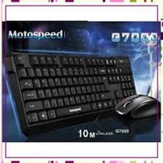 Chuột và bàn phím không dây chuyên game Motospeed G7000