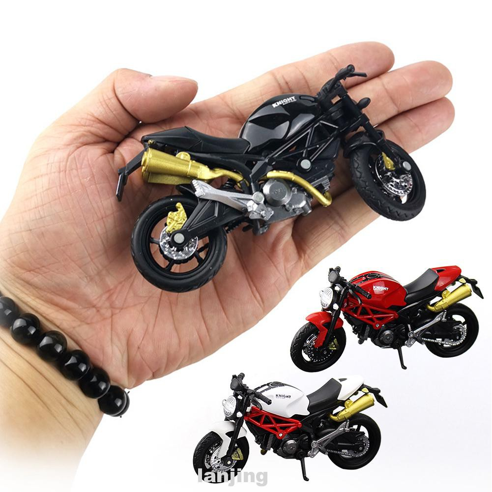 1:18 Plastic Decor Children Simulation Collection Gift Diecast Motorcycle