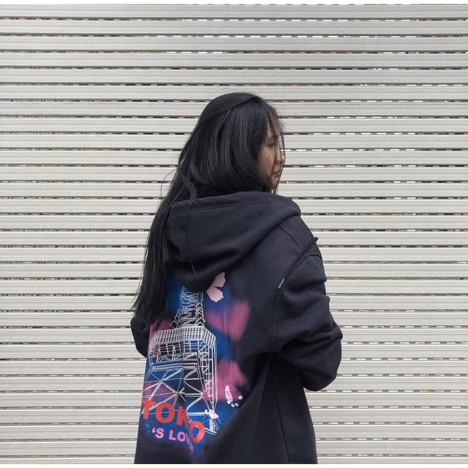 ÁO HOODIE - ÁO KHOÁC NỈ NGOẠI DÂY KÉO TOKYO 3 MÀU