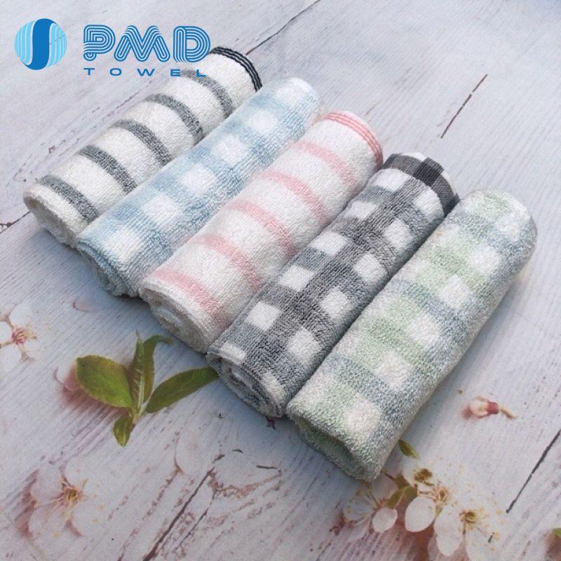 Khăn mặt tay 34x34cm xuất Nhật cotton mềm mại rất thấm nước êm nhẹ nhanh khô không sổ lông phai màu cực thích cho mẹ &bé