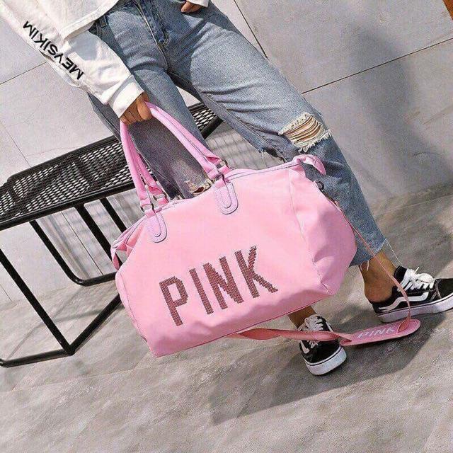 Túi du lịch Pink size đại