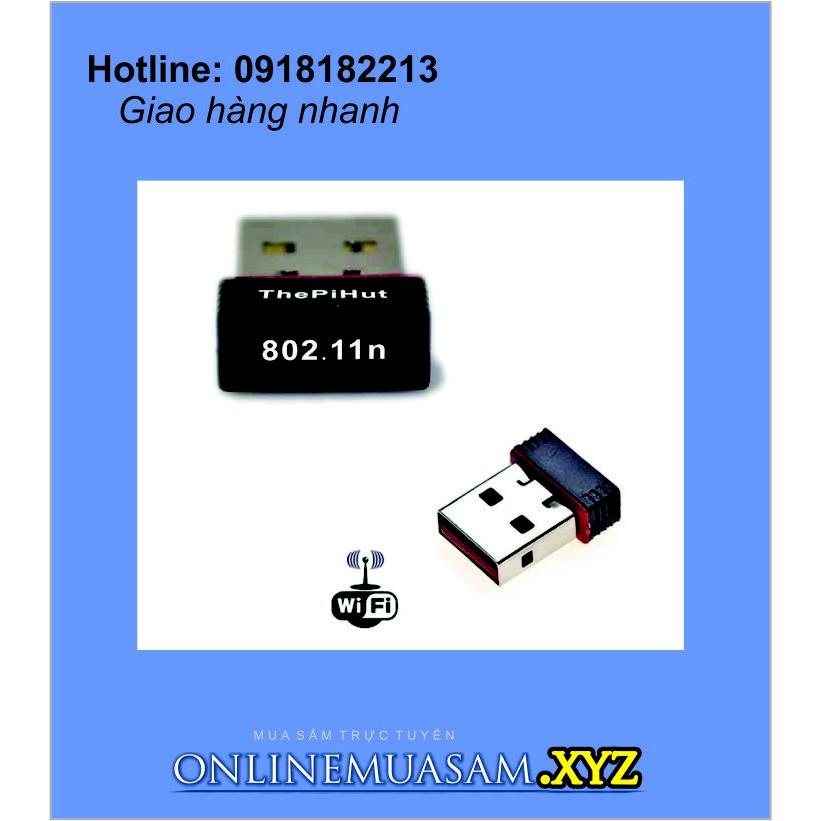 USB thu wifi USB Nano Giá chỉ 95.000₫