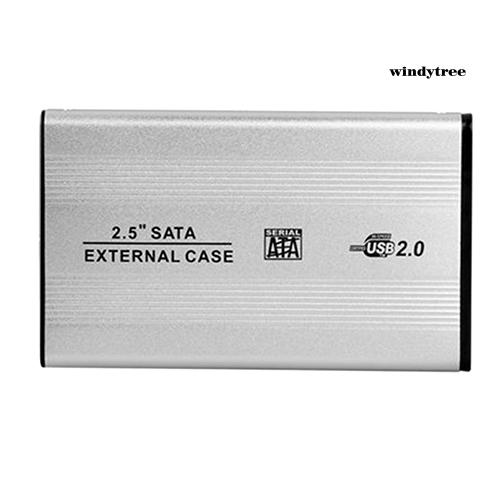 Hộp Đựng Ổ Cứng Ngoài Usb 2.0 Sata Di Động Cho Notebook Laptop
