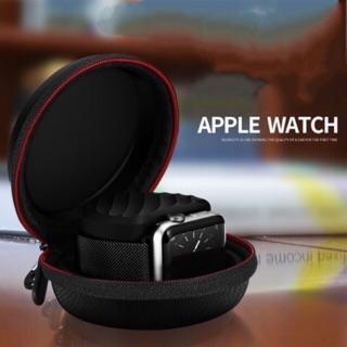 [Mã ELFLASH5 giảm 20K đơn 50K] Đế sạc Apple Watch kiêm hộp đựng và cuốn dây đồng hồ HOPAW-PU-1
